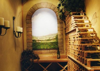 Cellar in a Small Space